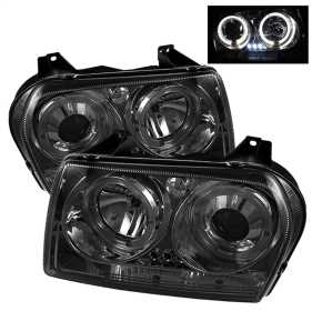 Dual Halo LED Projector Headlights